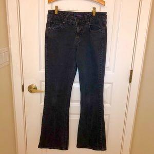Levis Black Superlow 518 Vintage Jeans